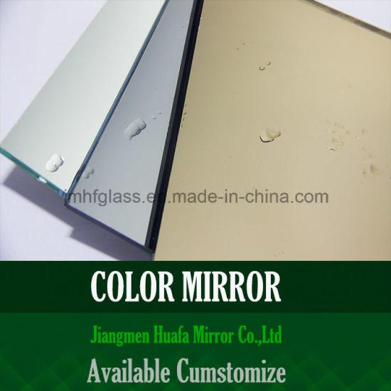 Mosaic Tile Backsplash Polished Silver Decorative Antique Mirror