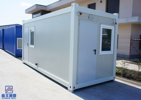 Insulation Modular Container Living Room Portable with 75mm Glass Wool Sandwich Panel