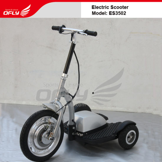 350W 3 Wheel Electric Scooter (ES3502) pictures & photos