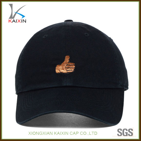 d0a7b092d96 China New Fashion Short Brim 6 Panel Baseball Cap Embroidered ...