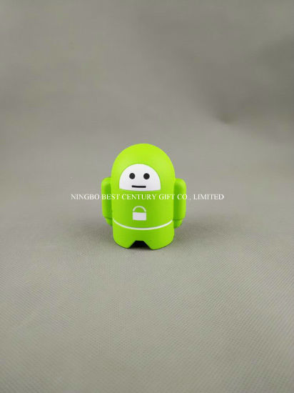 Wholesale New Items PU Squeeze Artificial Toy Stress Robot Design