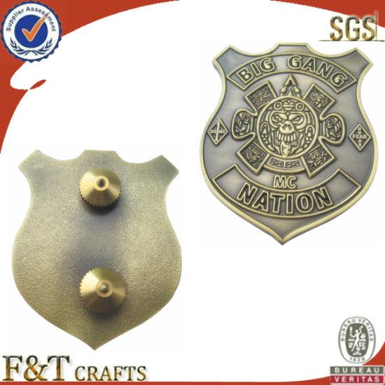 Lapel Pin Badge (FTBG016H)