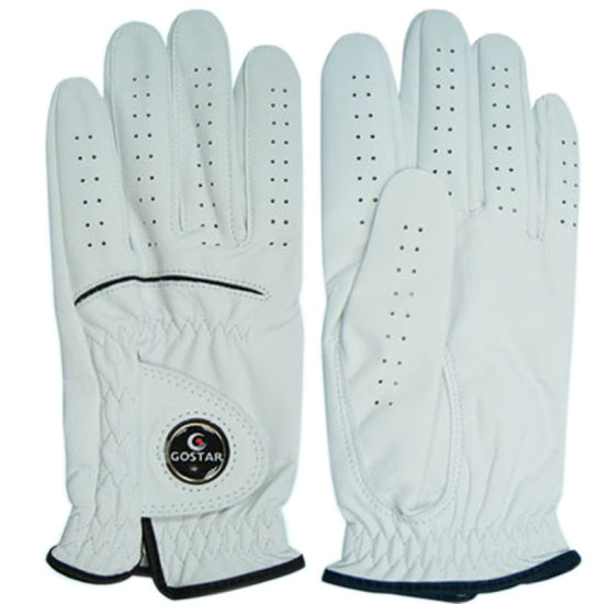 Cabretta Golf Glove with Ballmarker (CGL-12) pictures & photos