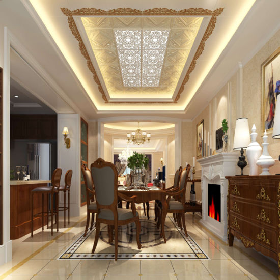 China Aluminum Ceiling Designs for Bathroom Shops Hotels - China ...