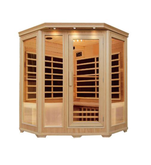 Corner Saunas Carbon Heater Infrared Sauna Room Sauna Room