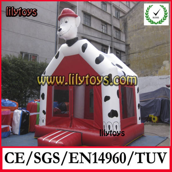 Inflatable Mini Dogs Bouncer in Stock pictures & photos