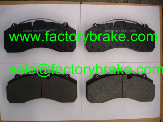 Truck Part Brake Pad Wva 29195/29175, Commercial Vehicle Brake Pad pictures & photos
