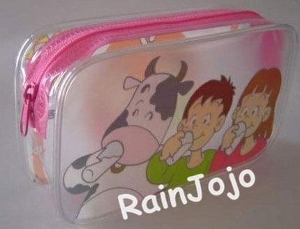Soft PVC Bag for Food Packing, PVC Toy Bag, Cute Gift Bag