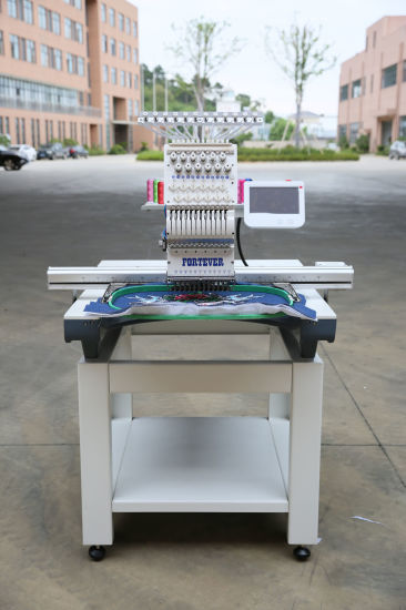Multi Function 1 Head Textile Machine Computerized for High Speed Embroidery Machine Functions for T Shirt Embroidery