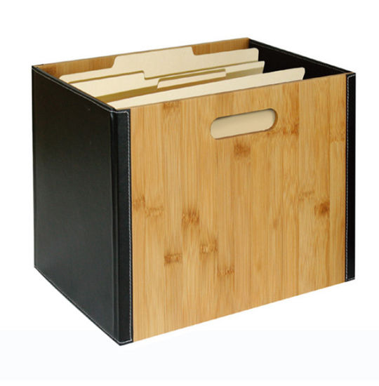 Bamboo Document Organizer File Organizer pictures & photos