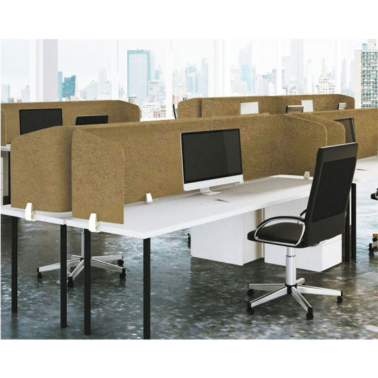 China Suppliers Polyester Fiber, Office Desk Divider Screens