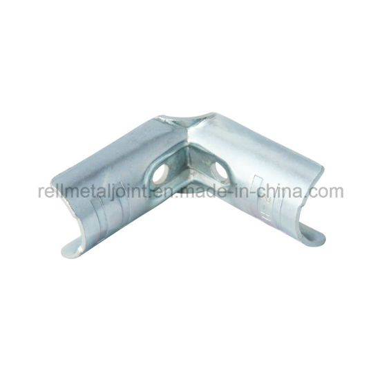 Lean Pipe Joint/Metal Pipe Rack White Zinc (H-2)