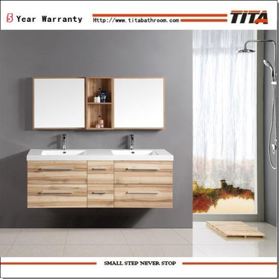 China teak bathroom furniture double sink bathroom vanity unit teak bathroom furniture double sink bathroom vanity unit light oak bathroom cabinets th21301 aloadofball Gallery