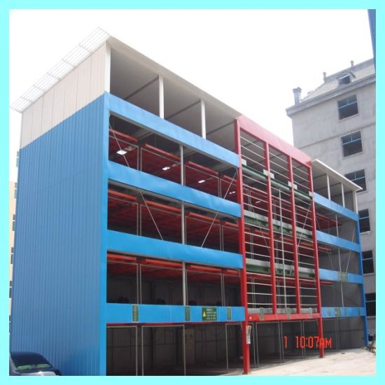 Hydraulic Smart Robot Parking System Steel Structure for Car Parking pictures & photos