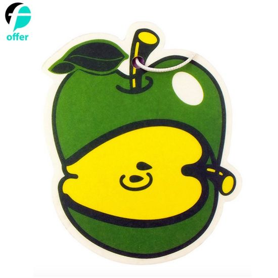Custom Logo Round Shape Fragrance Paper Car Air Freshener pictures & photos
