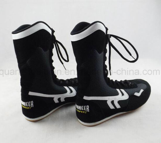 OEM Hot Sale Sport MMA Wrestle Boxing Training Shoes pictures & photos