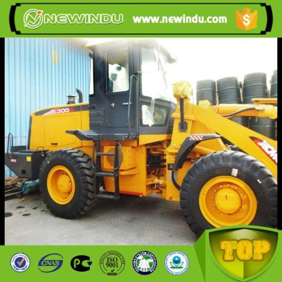 Yellow Color 1.7cbm Capacity Zl30g Wheel Loader