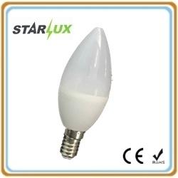 LED Bulb SMD 5W C37 Candle Lamp Light LED Bulb