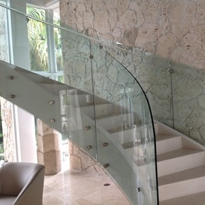 China Factory 12.76mm Railing Glass pictures & photos
