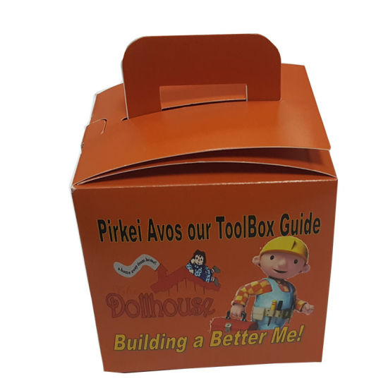Custom Printed Glossy Cake Paper Box pictures & photos