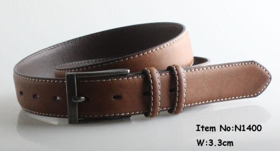 Fashion Popular Men PU Leather Belt (N1400)