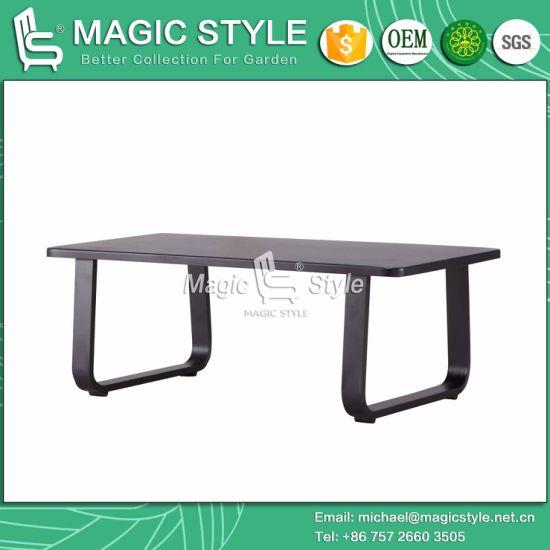 China Modern Outdoor Coffee Table Patio Aluminum Cafe Tea Table