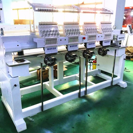 Wonyo Computer 4 Heads Embroidery Machine Factory Prices pictures & photos