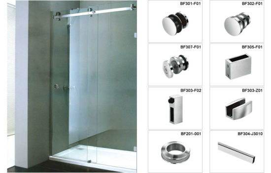 Frameless Stainless Steel Shower Enclosure Accessories With Competitive  Price