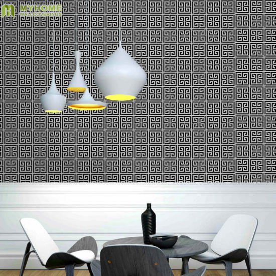 China Cheap Price Pvc Waperproof Wallcovering Modern Design 3d Vinyl