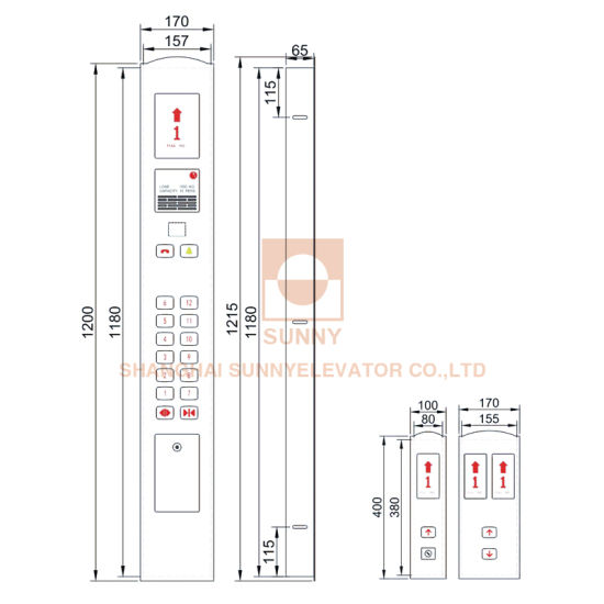 Lift Spare Parts Elevator Cop and Lop (SN-COP-060) pictures & photos