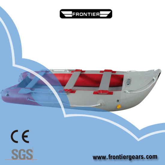 Folding PVC Inflatable Fishing Sea Kayaks with Paddle for Sale