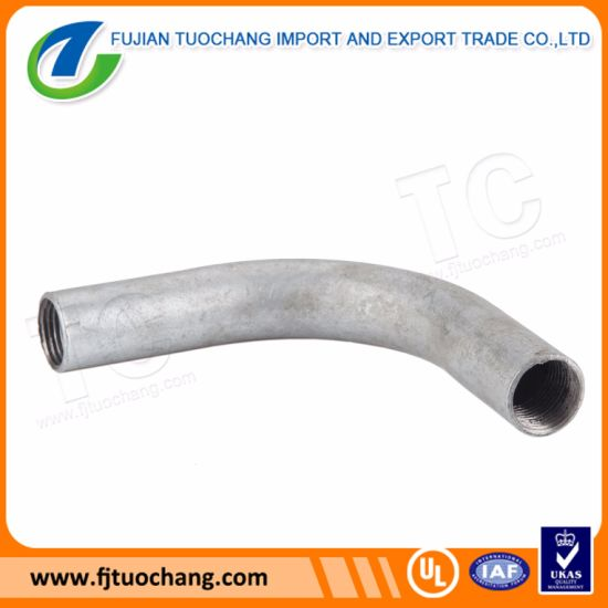 Pre-Galvanized Bending Circle Elbow Conduit Fittings pictures & photos