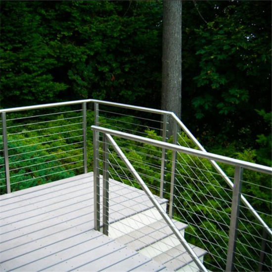 China Wire Cable Railing Indoor Modern Stainless Steel Wire Railing ...