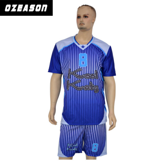 911f0519 Football Wear Custom Blank Sublimation Soccer Jersey Kit Uniform pictures &  photos