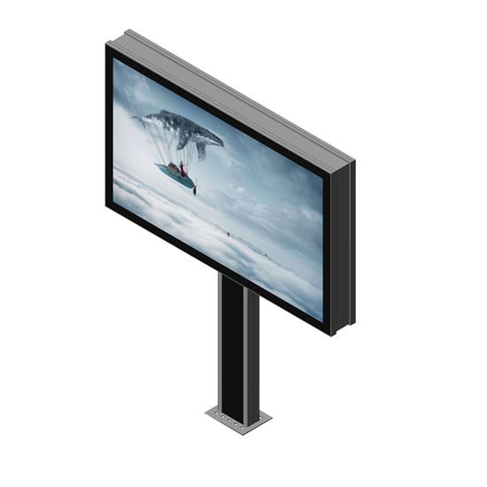Double Sided Scrolling Billboard Light Box Advertising Display