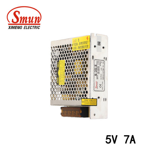 china smun 35w 5vdc 7a ac dc single output switching power supply