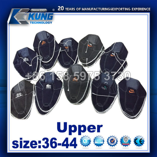 China Customized Unisexy Upper For Canvas And Sport Shoes Component