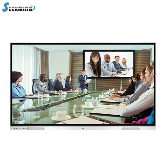 100'' LCD LED Meeting Electronic Interactive Whiteboard with Mobile Stand