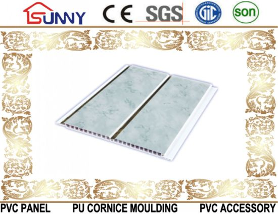 Lamination Groove PVC Ceiling Wall Panel, PVC Ceiling Tile pictures & photos
