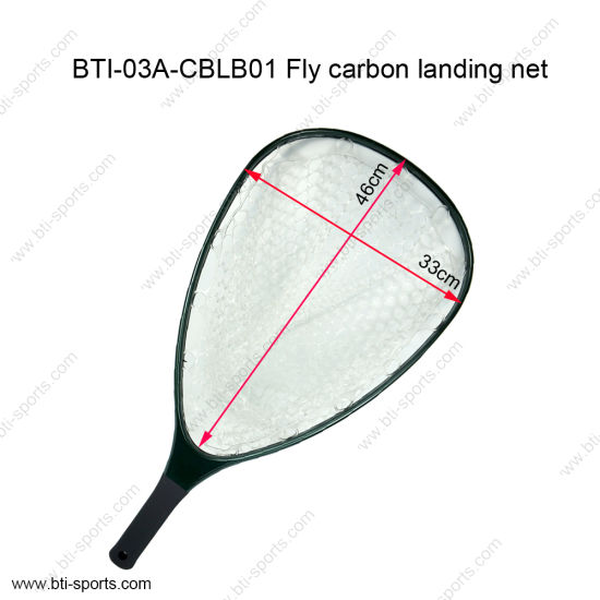 Lightweight Fly Fishing Carbon Net Carbon Fishing Net Ghost Net pictures & photos