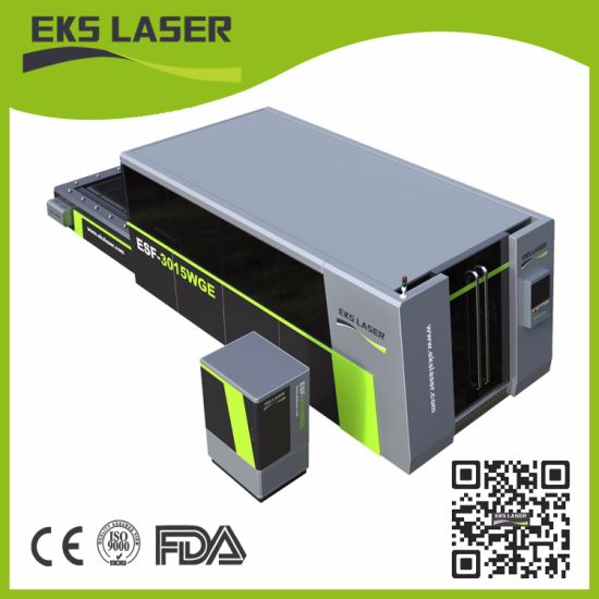 China Full Enclosed Exchangeabe Worktable Fiber Laser Cutter Machine - Enclosed stainless steel work table