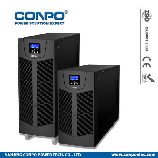 Pvt Series 6kVA/10kVA Tower Online High Frequency UPS (with/without battery)