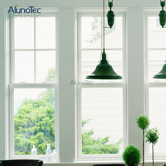 American Style Aluminium Double Hung Window pictures & photos