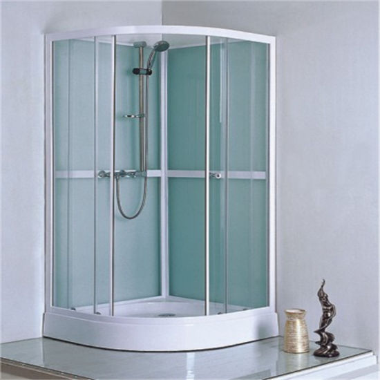 Round Cheap Price Shower Room Sliding Small Space Bathroom Design pictures & photos