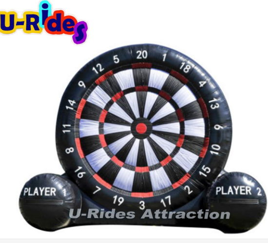 Commercial use foot dart inflatable soccer darts for events adult and kids
