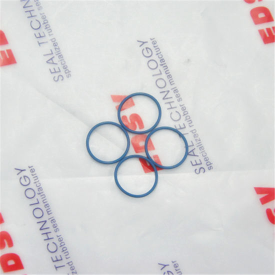 China Small Size Fvmq Blue O Ring Rubber Seal for Shaver - China ...