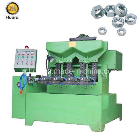 Automatic Nut Tapping Machine/Hexagon Nut Bolt Making Machine