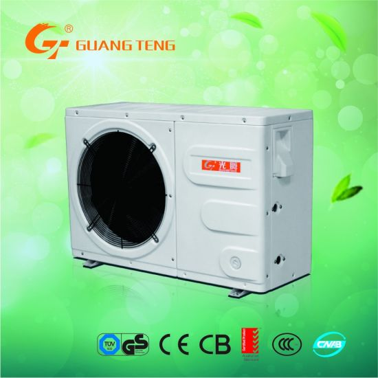 7KW Air Source Heat Pump Water Heater With Plastic Outer Casing
