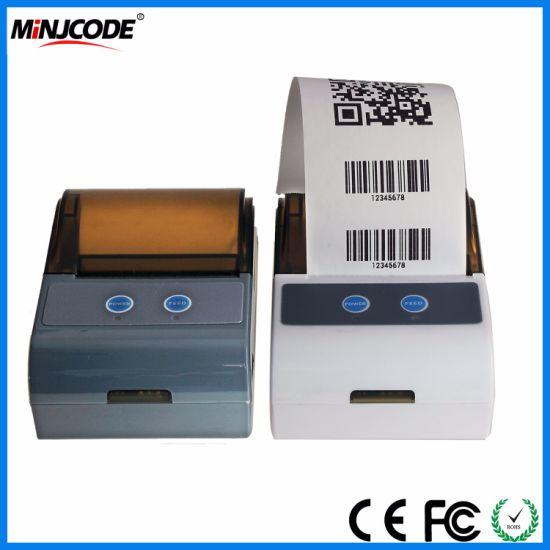 Mini Printer, WiFi Printermini Bluetooth Thermal Printer, Receipt Printer  Portable 58mm POS Printer USB/RS232/Bluetooth/WiFi, Mj5803ld