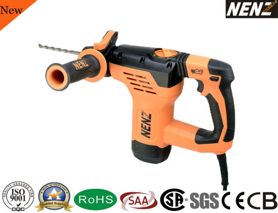 Rotary Hammer SDS Plus Power Tool for Drilling Concrete (NZ30)